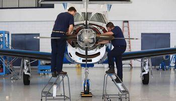 centro manutenção aeronave