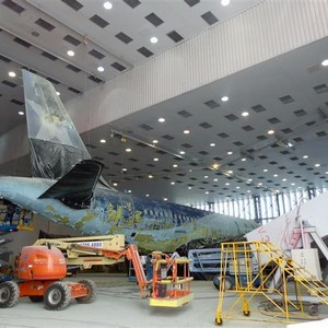 Centro de manutenção de aeronaves